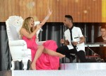 Miguel+Mariah+Carey+Performs #Beautiful GMA 52413 1