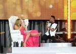 Miguel+Mariah+Carey+Performs #Beautiful GMA 52413 4